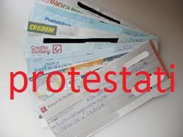cancellazione protesto assegno bancario